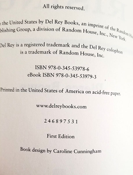 Details about Pierce Brown - RED RISING 1st Ed 2013 ARC Proof Copy NEW  UNREAD !